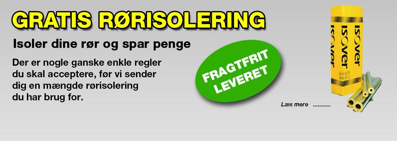 ISOLER DINE VARMERØR OG SPAR PENGE