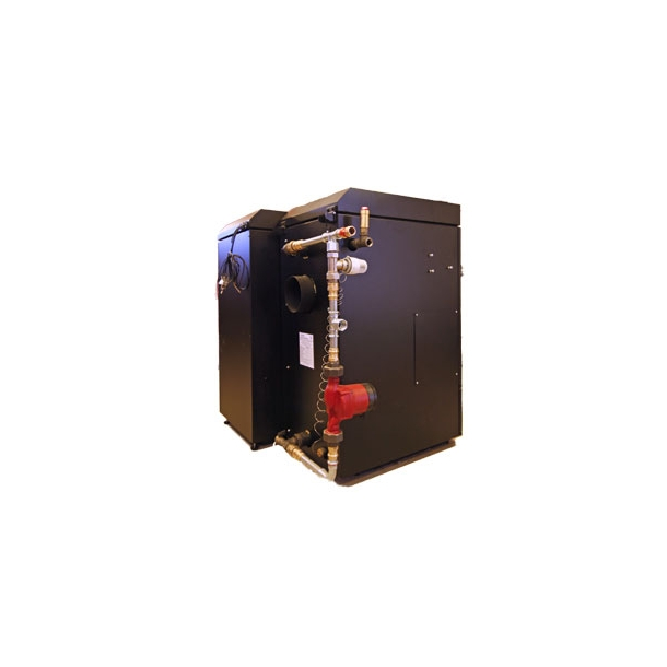 ´Gør det selv´ monteringssæt uden pumpe og trykexpansion (udtag højre side)